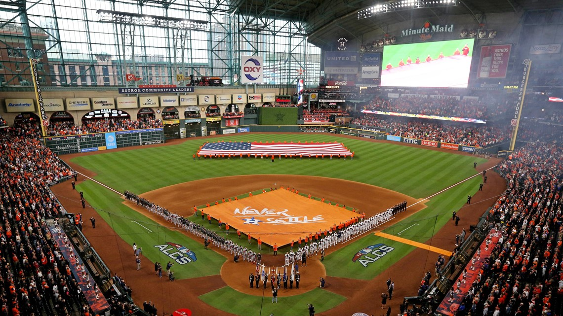 217a2e98e MLB closes investigation into cheating claims against Astros | khou.com