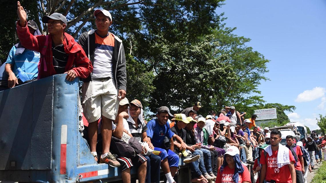 Pentagon to deploy 5,000 troops to southern border to halt migrant caravan