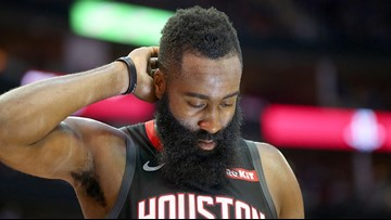 Rockets star James Harden to miss 2 games with strained hamstring