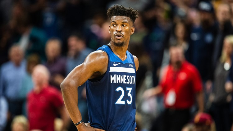sports shoes e8f64 fc217 Rockets trying to acquire Jimmy Butler by offering 4 1st ...