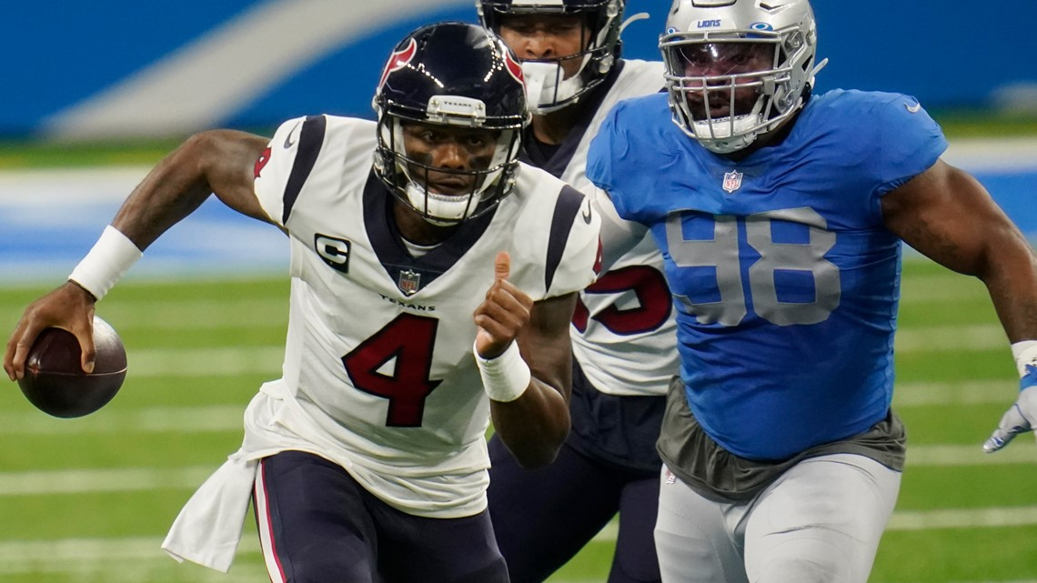 Texans feast, top Lions 41-25 on Thanksgiving Day   See highlights