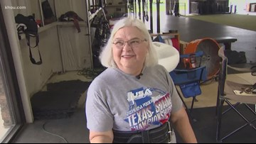69-year-old woman turns to powerlifting to get in shape