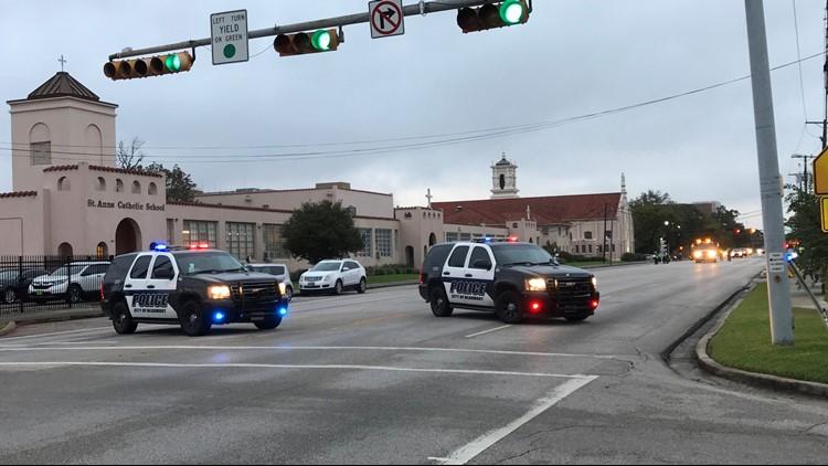 TEXAS. Pedestrian killed crossing 11th street near Beaumont church