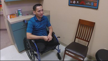 Walking tall: Company gifts prosthetic legs to Houston double amputee crime victim