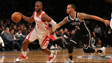 Paul, Anthony help Rockets top Nets 119-111, end 4-game skid