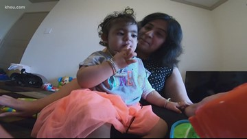 Woodlands toddler is in a fight for her life