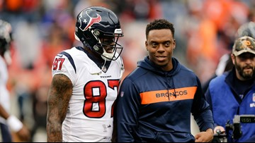 Texans receiver Demaryius Thomas unloads on Broncos' football leaders