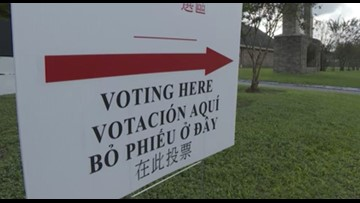 Harris County poll worker cited for assaulting voter
