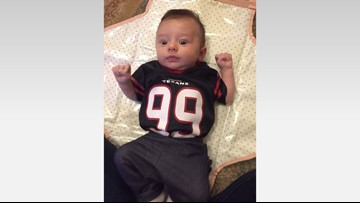 Texans give newborn baby credit for 6-game winning streak