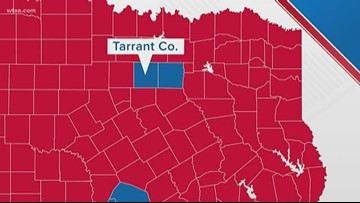 Texas' largest reliably red county turns purple
