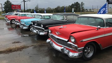 Large collection of classic cars, trucks to be auctioned off in Humble Saturday