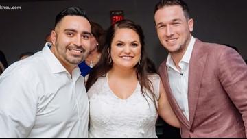 Astros star Alex Bregman crashes wedding reception in Cypress