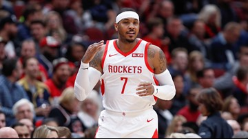 Rockets GM Daryl Morey denies report Carmelo Anthony will be waived