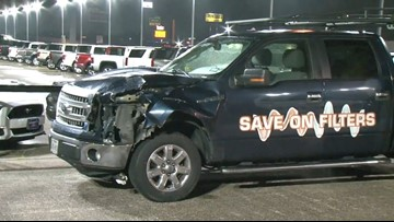 Woman dies after getting hit by multiple vehicles on I-45