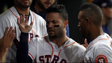 Astros' Jose Altuve expects to be '120 percent' for spring training after knee surgery
