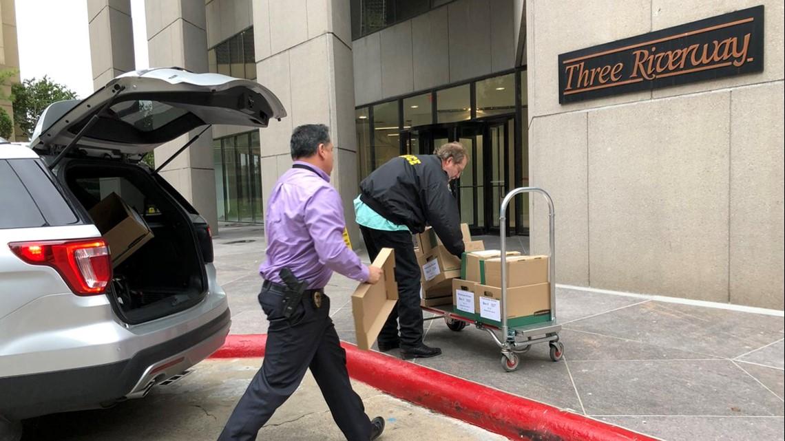 Investigators raid office of Jared Woodfill, ex-Harris County GOP chairman