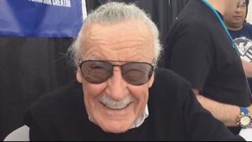 Stan Lee met fans at Houston's Comicpalooza in 2015