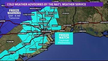 Houston Weather Blog: Freezing temperatures on the way