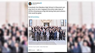 Photo of students giving nazi salute condemned by school district