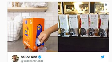 Some think new Tide box looks like boxed wine