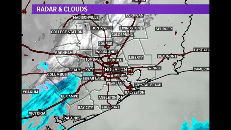 Snow-vember! The earliest Houston snowfall ever just happened ...