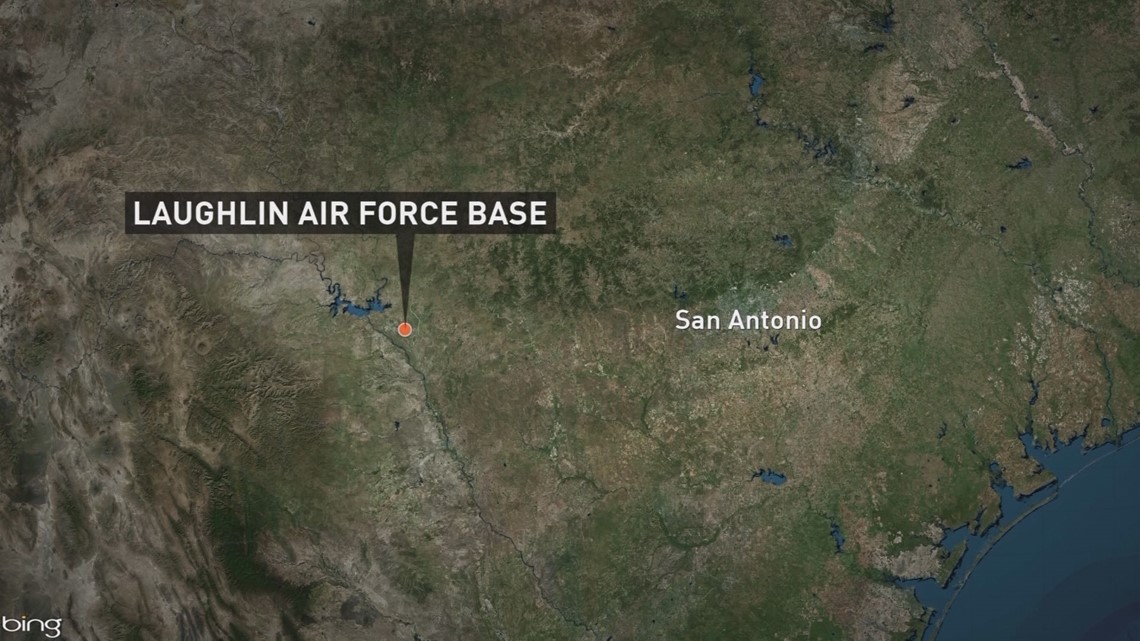 Pilot dies in 'supersonic jet' crash at Laughlin Air Force Base in Texas