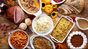 By the numbers: Americans' Thanksgiving meals