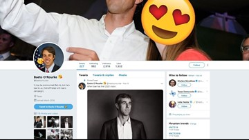 'Baeto' Twitter account tweets love for Beto O'Rourke