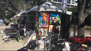 Second annual Mistletoe Market kicks off in Midtown Park