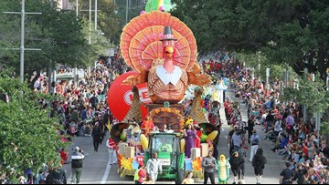WATCH NOW: The 2018 H-E-B Thanksgiving Day Parade