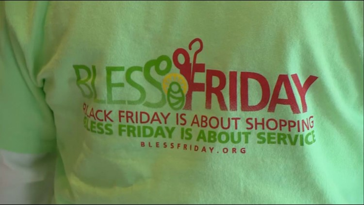 """Local church trades Black Friday for """"Bless Friday"""""""
