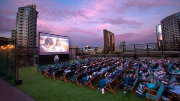 Rooftop Cinema Club releases movie spring movie schedule