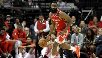 Rockets' James Harden named Western Conference Player of the Month for January
