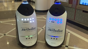 Meet Holmes and Watson: Houston Methodist adds robots to security team