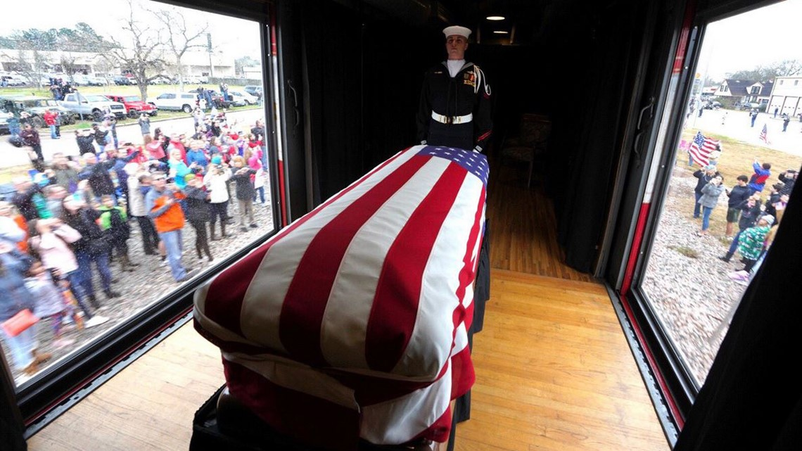 President Bush S Burial Site Opens To The Public Saturday Khou Com