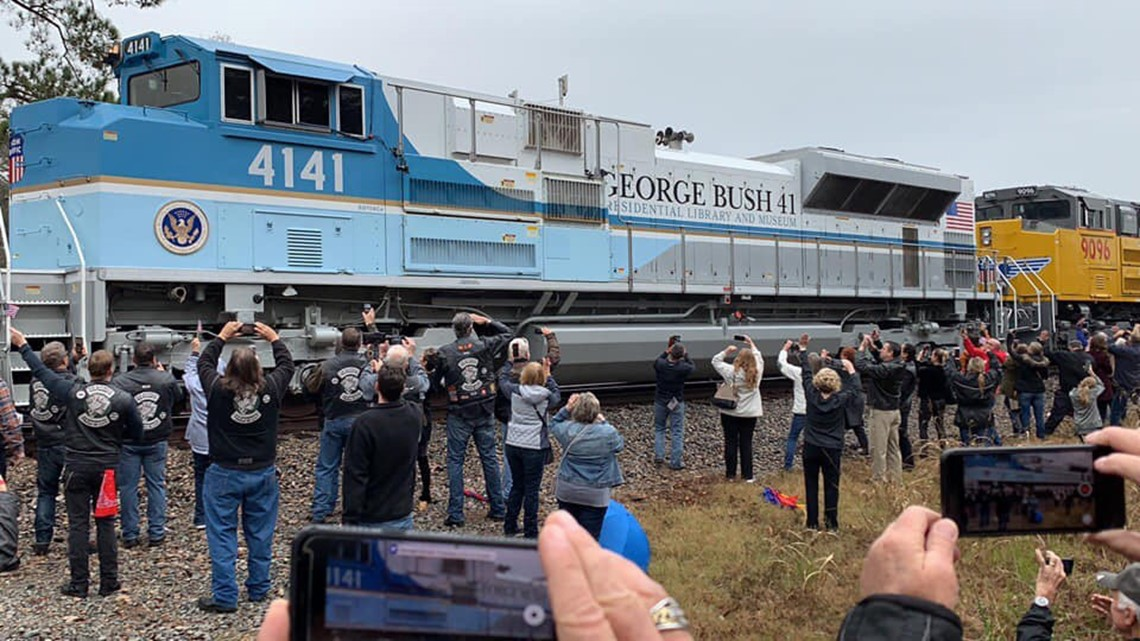 President George H W Bush Has Reached His Final Resting Place