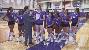 Athlete of the Week: Ridge Point High School's Claire Jeter
