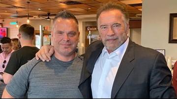 Arnold Schwarzenegger to Killen's Barbecue: 'I'll be back'