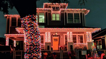 Woodland Heights residents bedazzle their homes for Lights in the Heights