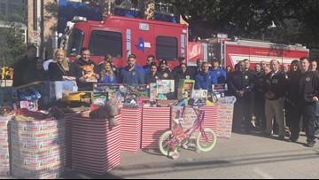 HPD, HFD collect dozens of toys for young crime victims