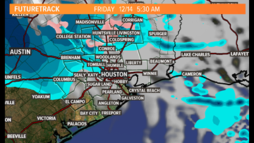 Houston Weather Blog: Overnight storm bringing rain, wind, and... flurries?