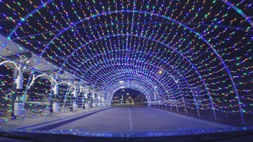 Experience this Christmas-themed car wash in Spring