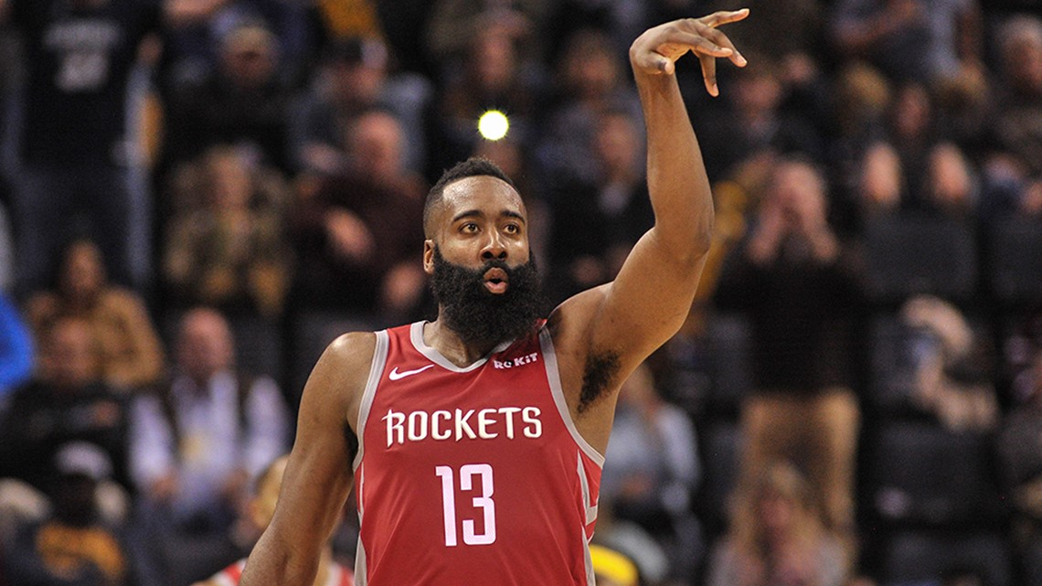 Harden has 2nd straight triple-double, Rockets top Grizzlies