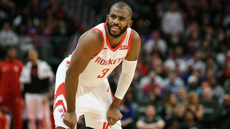 1070187786c Rockets' Chris Paul to miss at least 2 weeks with hamstring injury ...