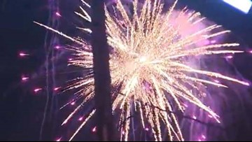 Houston-area residents ring in 2019 despite no official city celebration