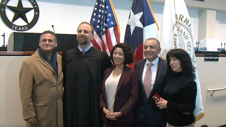 Lina Hidalgo Sworn In As Harris County Judge Khou Com