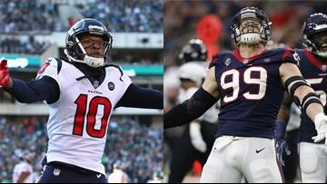 Hopkins, Watt named to AP NFL All-Pro 1st-Team