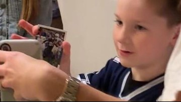 Injured Cowboy Allen Hurns Facetimes young fan after letter that went viral