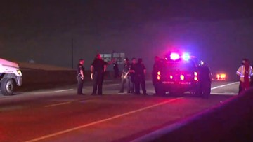 Woman dies after walking out in front of 18-wheeler on Gulf Freeway