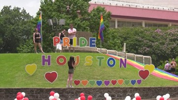 Pride Houston celebrates 50-year history in downtown parade